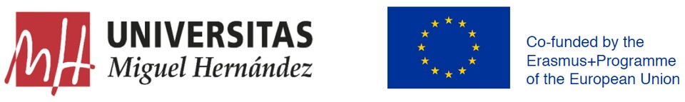 Universidad Miguel Hernández | Co-funded by the Erasmus+Programme of the European Union
