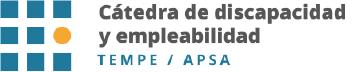 Cátedra de discapacidad y empleabilidad Tempe Apsa