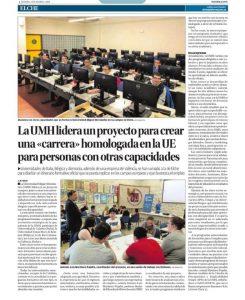 EL DIARIO INFORMACION PUBLICA UN REPORTAJE SOBRE U4INCLUSION