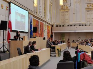 THE INSTITUTE FOR INCLUSIVE EDUCATION TALKS AT THE AUSTRIAN PARLAMENT
