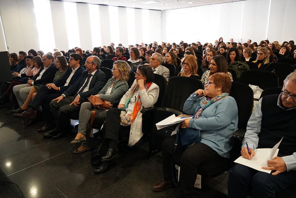 La Sala de Conferencias del Centro de Congresos de Elche, llena en la Jornada de Educación Inclusiva